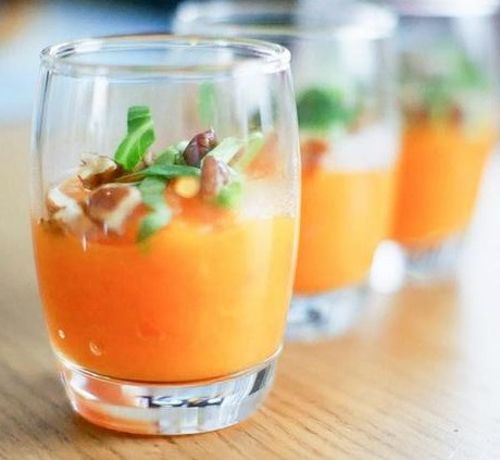 Verrine tout orange